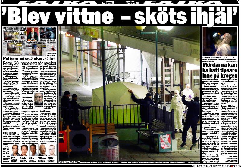 Aftonbladet 21 mars 2015.