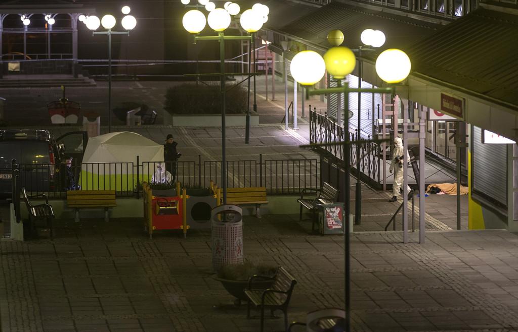 Två personer sköts till döds och flera skadades allvarligt på Vår Krog&Bar 18 mars 2015. Foto: THOMAS JOHANSSON